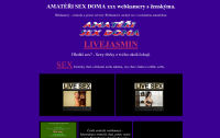 Porno a live chat, erotické webkamery online sex